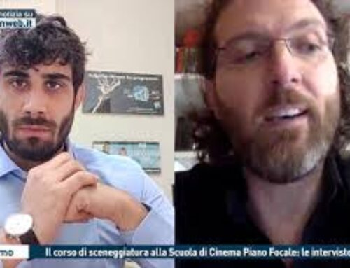 TGMED 28.11.20 PALERMO – IL CORSO DI SCENEGGIATURA ALLA SCUOLA DI CINEMA PIANO FOCALE: LE INTERVISTE
