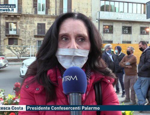 """Palermo. """"Avete ucciso un settore"""": la protesta dei fioristi davanti alla Ragione"""