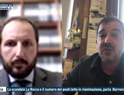 Catania. L'audio di La Rocca e il numero di posti letto in rianimazione, parla il giornalista Barresi