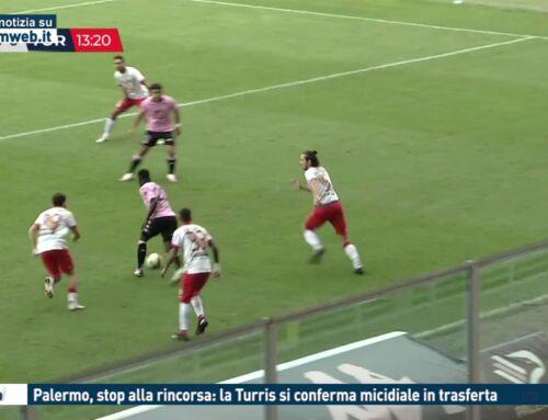 Calcio. Palermo, stop alla rincorsa: la Turris si conferma micidiale in trasferta