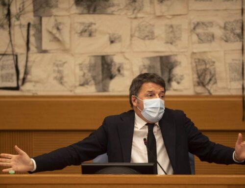 """Renzi """"Disponibili a discutere senza veti, non voteremo fiducia"""""""