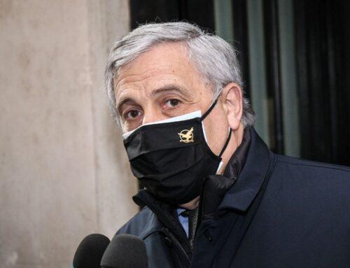 """Tajani """"inseguono senatori FI, ma nessun rischio fughe"""""""