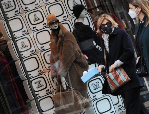 Anche a dicembre pesante impatto del Covid sui consumi