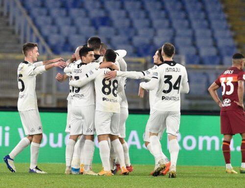 Roma eliminata in Coppa Italia, Spezia passa 4-2 all'Olimpico