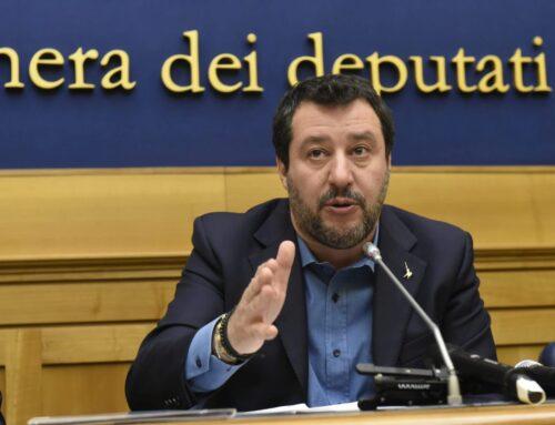 """Salvini """"Questo Governo non può risolvere i problemi, andremo al Colle"""""""