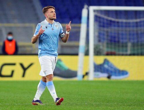 La Lazio batte 2-1 in rimonta il Sassuolo, decisivo Immobile