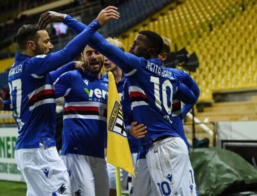 La Sampdoria espugna il Tardini, Parma sconfitto 2-0