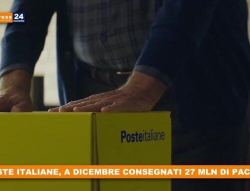 Poste Italiane, a dicembre consegnati 27 mln di pacchi
