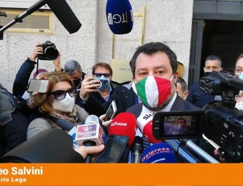 """Governo, Salvini """"Teatrino osceno, ridiamo la parola al popolo"""""""