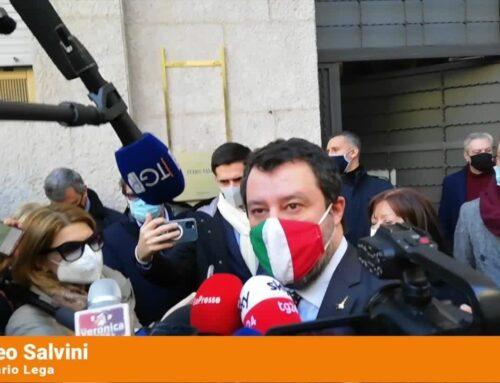 """Salvini """"Un piano di rilancio per Torino e il Piemonte"""""""