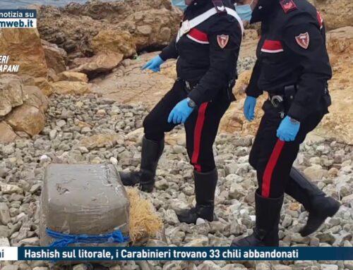 Trapani. Hashish sul litorale, i Carabinieri trovano 33 chili abbandonati
