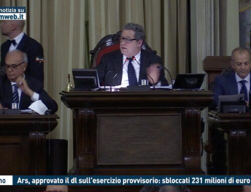 Palermo. Ars, approvato il dl sull'esercizio provvisorio: sbloccati 231 milioni di euro