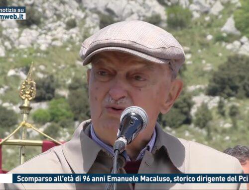 Roma. Scomparso all'età di 96 anni Emanuele Macaluso, storico dirigente del Pci