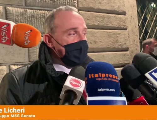 """Licheri """"Da Conte un progetto per l'Italia"""""""