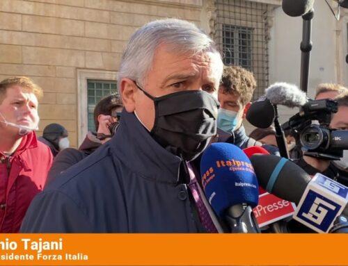"""Tajani """"La legge elettorale non è una priorità"""""""