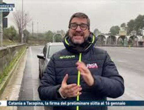 CALCIO – CATANIA A TACOPINA, LA FIRMA DEL PRELIMINARE SLITTA AL 16 GENNAIO