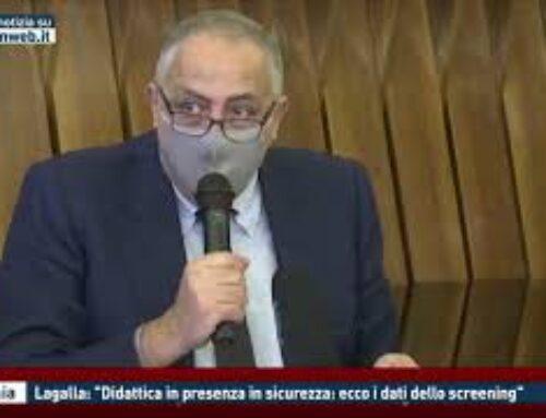 """CATANIA – LAGALLA: """"DIDATTICA IN PRESENZA IN SICUREZZA: ECCO I DATI DELLO SCREENING"""""""