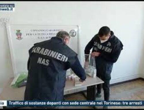 CATANIA – TRAFFICO DI SOSTANZE DOPANTI CON SEDE CENTRALE NEL TORINESE: TRE ARRESTI