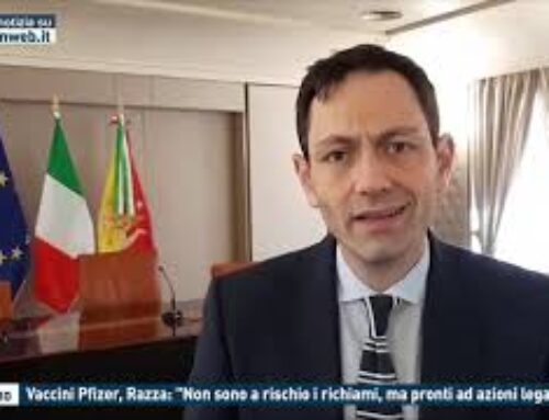 """PALERMO – VACCINI PFIZER, RAZZA: """"NON SONO A RISCHIO I RICHIAMI, MA PRONTI AD AZIONI LEGALI"""""""