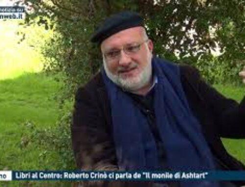 """PALERMO – LIBRI AL CENTRO: ROBERTO CRINO' CI PARLA DE """"IL MONILE DI ASHTART"""""""