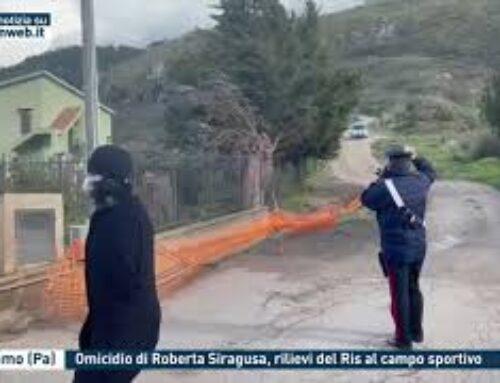 CACCAMO (PA) – OMICIDIO DI ROBERTA SIRAGUSA, RILIEVI DEL RIS AL CAMPO SPORTIVO
