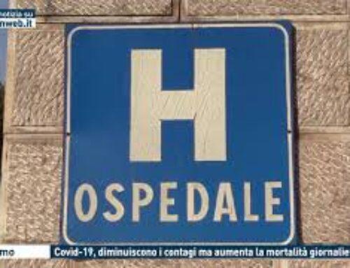 PALERMO – COVID-19, DIMINUISCONO I CONTAGI MA AUMENTA LA MORTALITA' GIORNALIERA