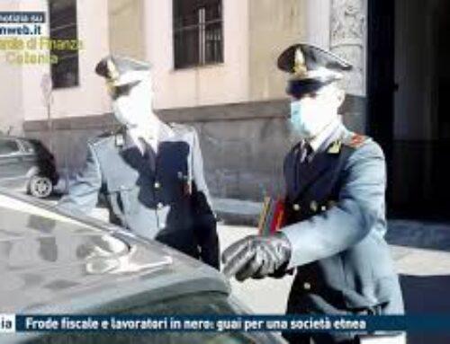 CATANIA – FRODE FISCALE E LAVORATORI IN NERO: GUAI PER UNA SOCIETA' ETNEA