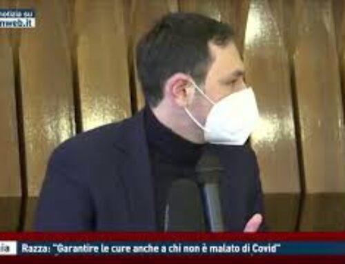 """CATANIA – RAZZA: """"GARANTIRE LE CURE ANCHE A CHI NON E' MALATO DI COVID"""""""