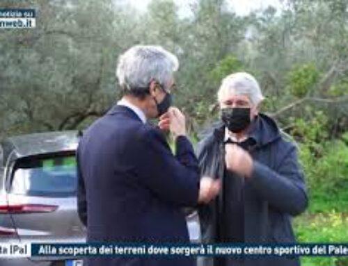 TORRETTA (PA) – ALLA SCOPERTA DEI TERRENI DOVE SORGERA' IL NUOVO CENTRO SPORTIVO DEL PALERMO