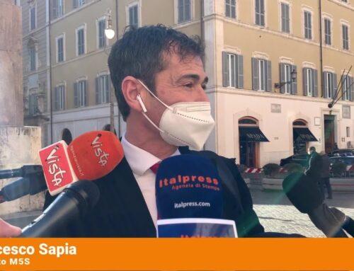 """Governo, Sapia """"Conte è il nostro presidente"""""""