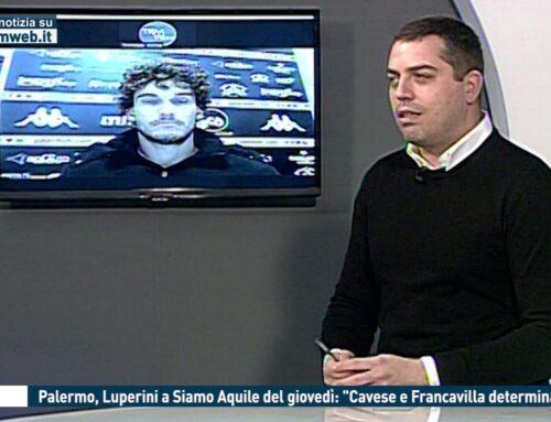 """Calcio. Palermo, Luperini a #SiamoAquile del giovedì: """"Cavese e Francavilla determinanti"""""""