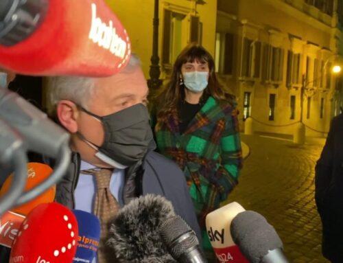"""Governo, Tajani """"Polverini è fuori da Forza Italia"""""""