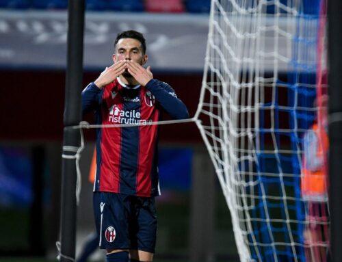 Mbaye e Sansone in gol, Bologna-Lazio 2-0