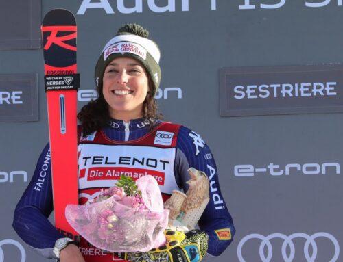Brignone vince super G Val di Fassa, Curtoni 4^