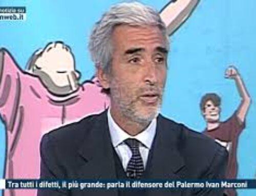 CALCIO – TRA TUTTI I DIFETTI , IL PIU' GRANDE: PARLA IL DIFENSORE DEL PALERMO IVAN MARCONI