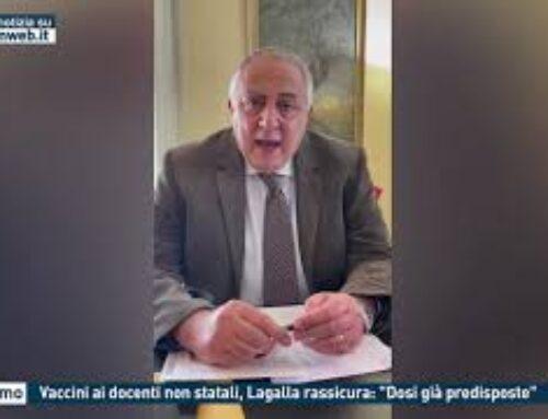 """PALERMO, VACCINI AI DOCENTI NON STATALI, LA GALLA RASSICURA: """"DOSI GIA' PREDISPOSTE"""""""