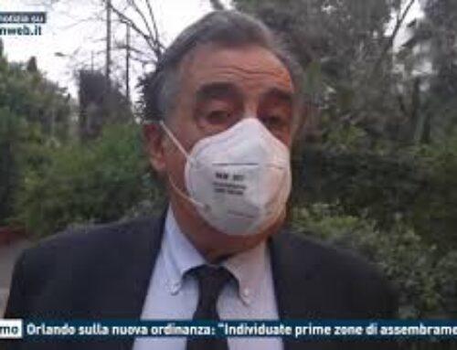 """Palermo, Orlando sulla nuova ordinanza: """"Individuate prime zone di assembramento"""""""