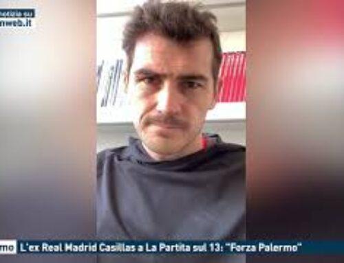"""Palermo, L'ex Real Madrid Casillas a La Partita sul 13: """"Forza Palermo"""""""