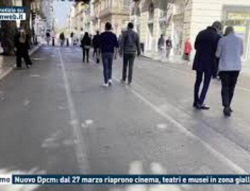Palermo, nuovo Dpcm: dal 27 marzo riaprono i cinema, teatri e musei in zona gialla