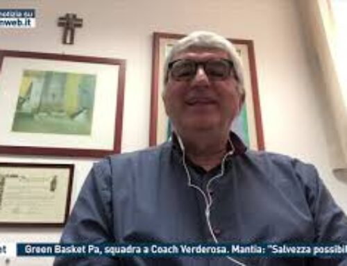 "Basket, Green Basket Pa, squadra a Coach Verderosa. Mantia: ""Salvezza possibile"""