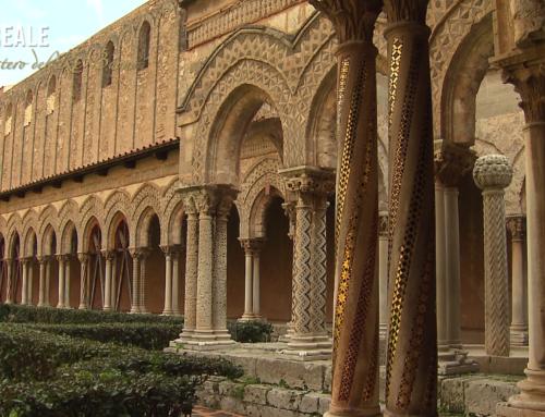 """Monreale, il monastero del Re Buono """"Il Chiostro"""""""