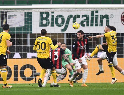 Milan pari a San Siro con l'Udinese, vincono Atalanta e Roma