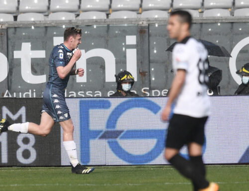 Verde risponde a Gaich, Spezia-Benevento 1-1