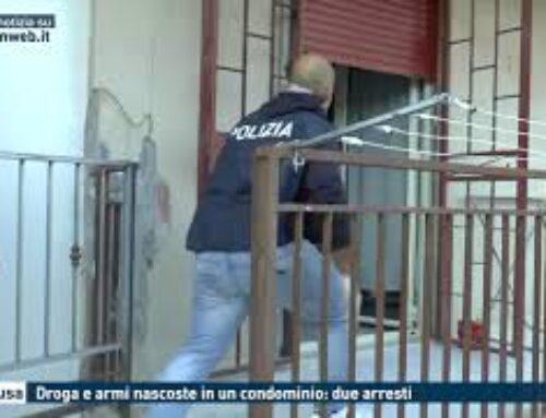 Siracusa, droga e armi nascoste in un condominio: due arresti