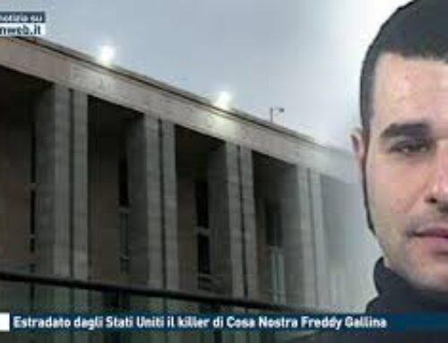 Roma, ergastolo dagli Stati Uniti il killer di Cosa Nostra Freddy Gallina