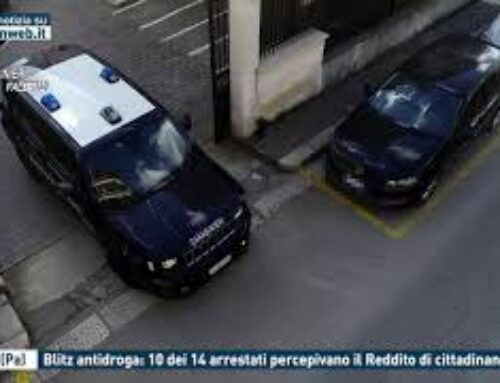 Carini (Pa), blitz antidroga: 10 dei 14 arrestati percepivano il Reddito di cittadinanza