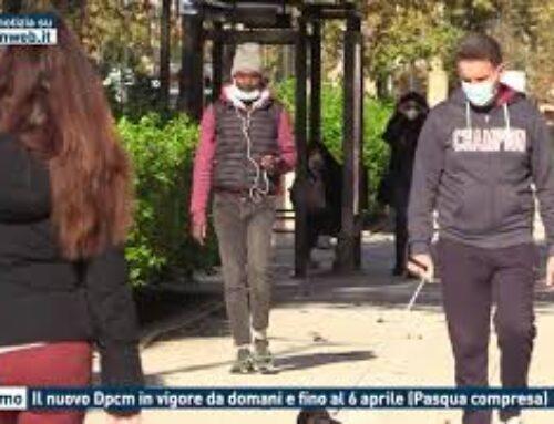 Palermo, il nuovo Dpcm in vigore da domani e fino al 6 Aprile (Pasqua compresa)