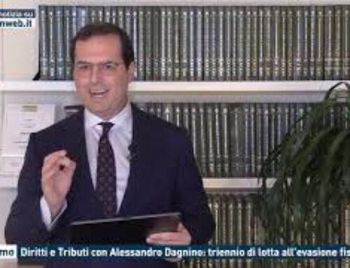 Diritti e Tributi con Alessandro Dagnino: triennio di lotta all'evasione fiscale