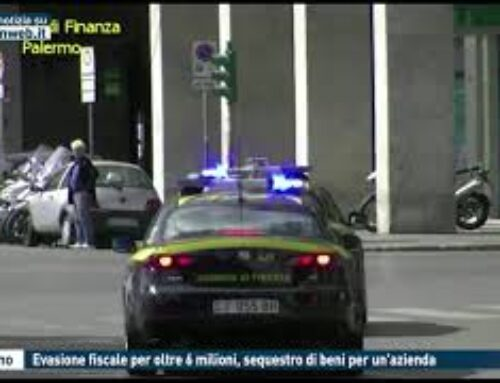 Palermo, evasione fiscale per oltre 6 milioni, sequestro di beni per un'azienda