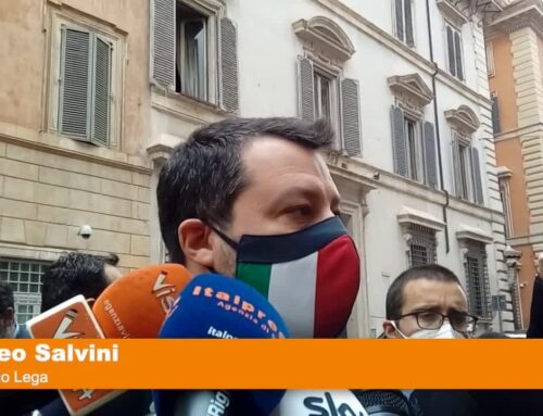 """Salvini """"Chiediamo riaperture e soldi alle imprese"""""""